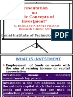 Basics on Investments