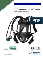 Msa Air Work Mask Scba Air Supply Scba Tank Holder Rescue Air Supplies Hoses 1 Of 2 Facility Maintenance & Safety
