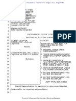 Deckers v. Collections Etc. - Complaint