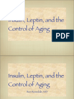 Ron Rosedale Talk on Insulin Leptin and the Control of Aging