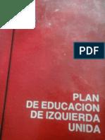 Plan de Educación de Izquierda Unida