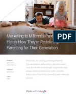 Marketing Millennial Parents Youtube Insights
