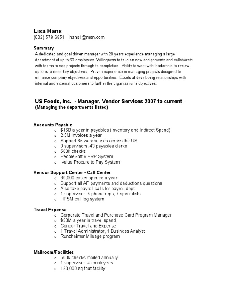 accounting manager shared services in phoenix az resume