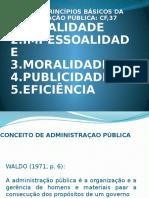 Administracão Publica