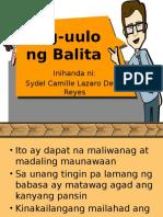 Pag-uulo Ng Balita Reshare