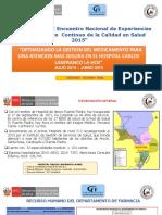 Mejora de La Calidad de Un Hospital Peru