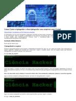 Linux Como Criptografar e Descriptografar Seus Arquivos Com Ccrypt