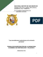 Emulsiones Explosivas - Informe Final
