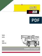 Manual Partes GMK2035