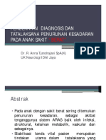 4-Anna Tjandrajani - Penurunan Kesadaran D Dan Th Anak Sakit Berat Final