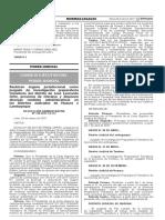 Reubican órgano jurisdiccional como juzgado de investigación preparatoria transitoria del distrito de José Leonardo Ortiz provincia de Chiclayo y disponen diversas medidas administrativas en los Distritos Judiciales de Huaura y Lambayeque