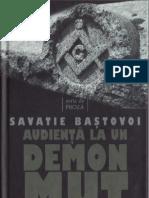Savatie Baştovoi - Audienţă la un demon mut