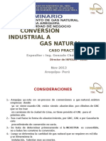 Conversion Industrial a Gn