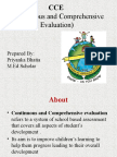 CCE presentation