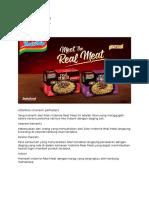 Iklan Indomie Real Meat