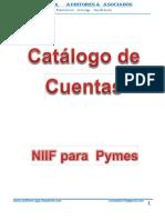Catalogo de Cuentas.pdf Niif Para Pymes 2017