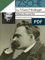 Nietzsche Vols. I-II - Martin Heidegger