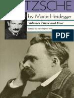 Nietzsche Vols. III-IV - Martin Heidegger