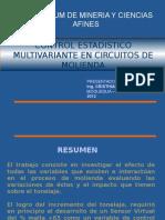 Control estadístico multivalente en circuitos de molienda.ppt