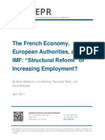 The French Economy, European Authorities, and the IMF