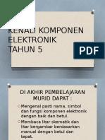 KENALI KOMPONEN ELEKTRONIK