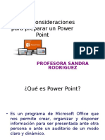 Criterios de Power Point