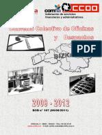 Convenio Colectivo Oficinas y Despachos Bizkaia 2009-2012 - Copia
