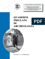 Stefano Magnani, Archival photographs and Inscriptions. Notes on some monuments, inscribed or not, found during the excavations for the modern sewers of Aquileia (in Italian), QFA 26 2016