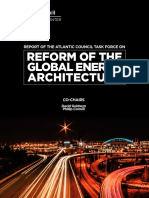 Reform of the Global Energy Architecture