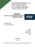 Proiect - Calculul și construcția motoarelor cu ardere internă, Dacia Logan