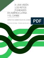 7. CAF 2013b - Aspectos Ambientales de La Energia en LATINOAMERICA