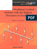 Design of Nonlinear Control Systems With the Highest Derivative in Feedback