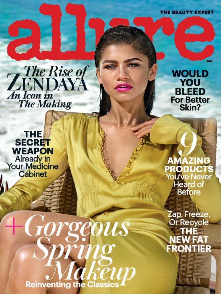 Allure USA January 20englishmagazines   PDF   Business