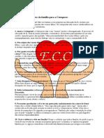 Os Dez Mandamentos Da Família ECC