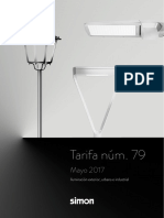 201704 Simon Lighting Tarifa 79 Es Iluminación Exterior 2017