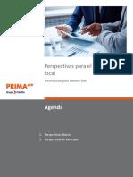 Perspectivas Econónicas Para El Mercado Local Prima AFP Marzo 2017