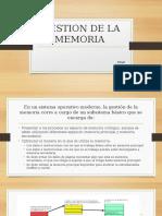 Gestion de La Memoria