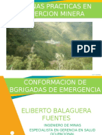 Conformacion de Brigadas de Emergencia