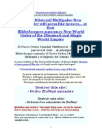 El Nuevo Orden Mundial Multilateral