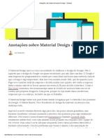 Anotações Sobre Material Design Do Google - Tableless