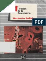 Bobbio. El futuro de la Democracia. Capítulo 1.pdf