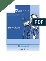 Memoria Congreso Pedagogía 2015 Cuba