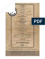 Prohibition Chicken Full Menu