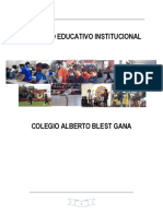 Proyecto Educativo Institucional Versión Marzo 2017 (1)