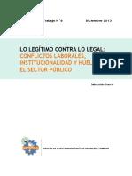 Documento Trabajo 8 - Lo Legítimo Contra Lo Legal Conflictos Laborales