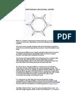 Understanding Hexagonal Water