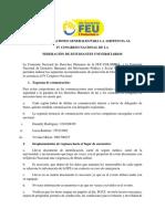 RECOMENDACIONES GENERALES PARA LA ASISTENCIA AL IV CONGRESO NACIONAL DE LA FEU.pdf