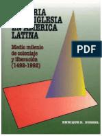 Historia de La Iglesia en América Latina
