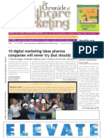 The Chronicle of Healthcare Marketing - June 2009