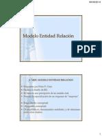 Bases de Datos Modelo Entidad Relación